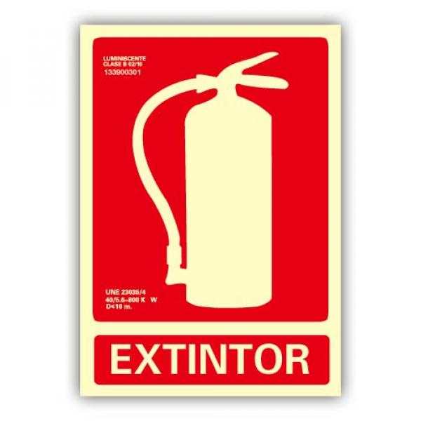 Señal Extintor 21x30cm