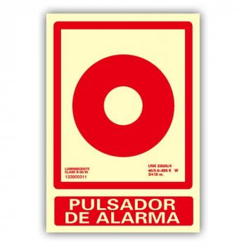 """Señal """"Pulsador de Alarma""""..."""