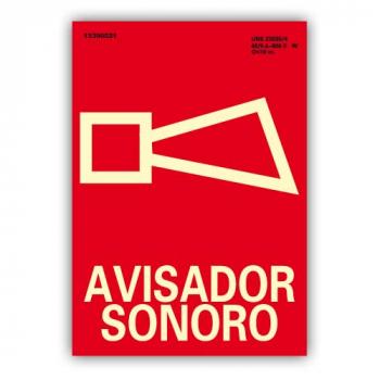 """Señal """"Avisador Sonoro""""..."""