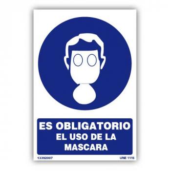 """Señal """"Es Obligatorio el...01"""