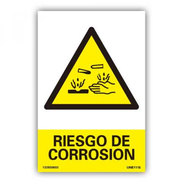"""Señal """"Riesgo de Corrosión"""""""