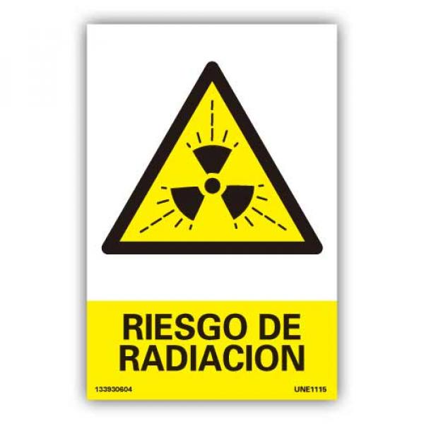 "Señal ""Riesgo de Radiación"""