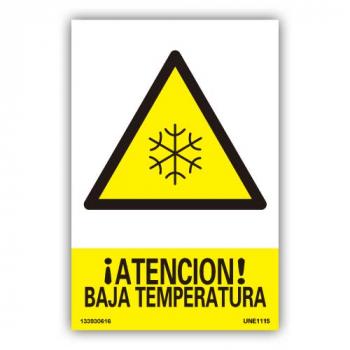 """Señal """"Baja Temperatura"""""""