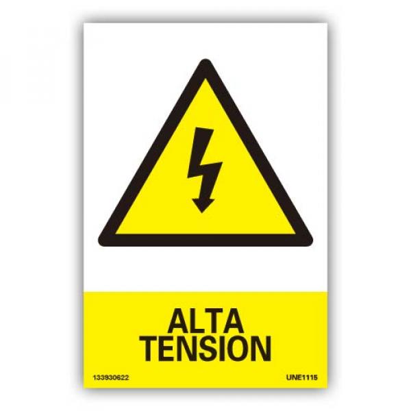 """Señal """"Alta Tensión"""""""