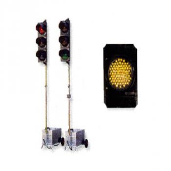 Semáforo móvil para obras