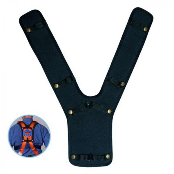 Si necesita incrementar el confort sobre la espalda al utilizar un arnés anticaídas, esta espaldera es el compañero ideal.