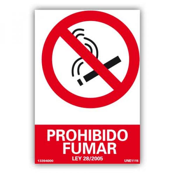 "Señal ""Prohibido Fumar"""