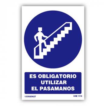 """Señal """"Es Obligatorio..."""