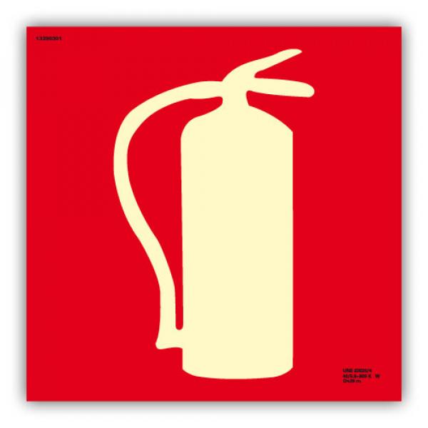 "Señal Dibujo ""Extintor"" 21x21cm"