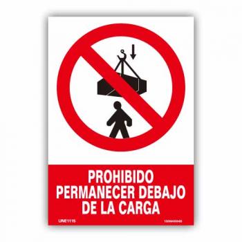 """Señal """"Prohibido Permanecer..."""