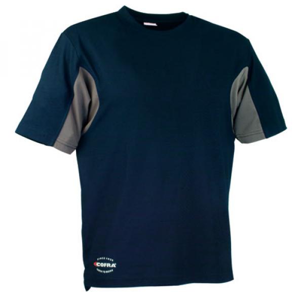 Camiseta Cofra CoolDry marino / gris