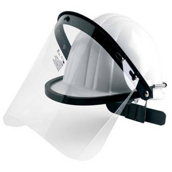 Pantalla facial para casco de seguridad