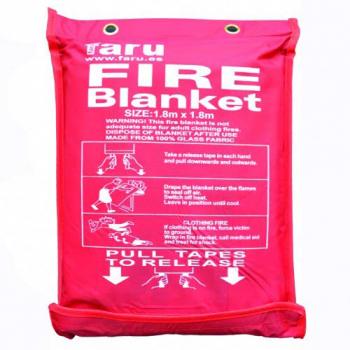 Manta ignífuga antincendio...