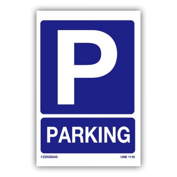 Señal Parking Aparcamiento
