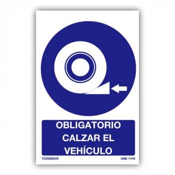 Señal Obligatorio Calzar El...