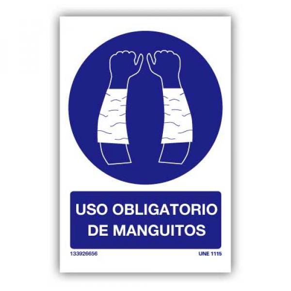 Señal Obligatorio Uso de Manguitos