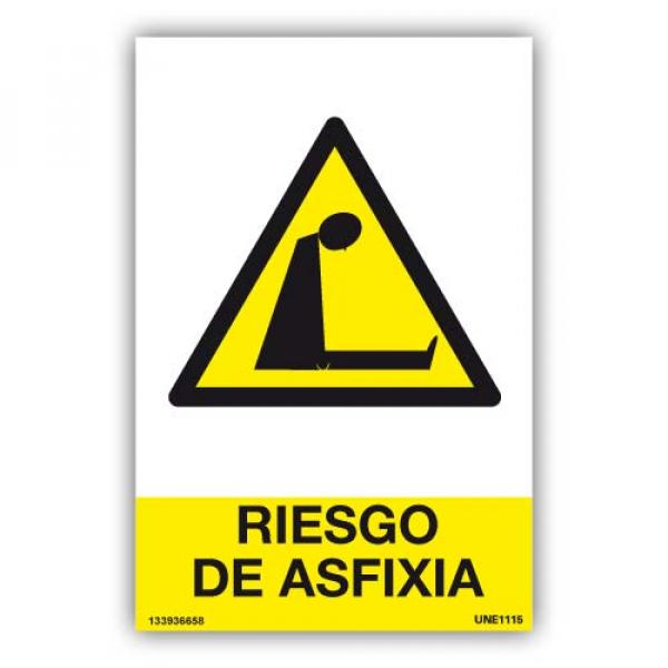 Señal Riesgo de Asfixia