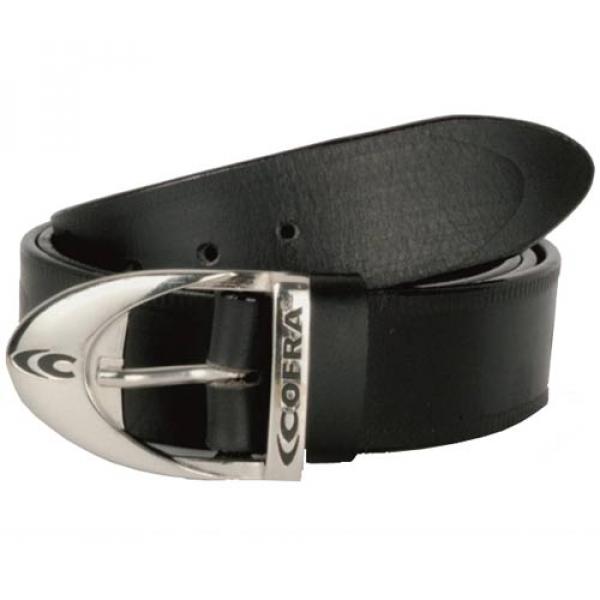 Cinturón de piel Cofra (negro o marrón)