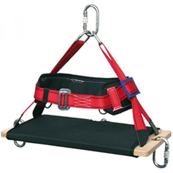 Silla rígida para trabajos verticales fabricada para ser usada junto a equipo de ascenso y descenso.