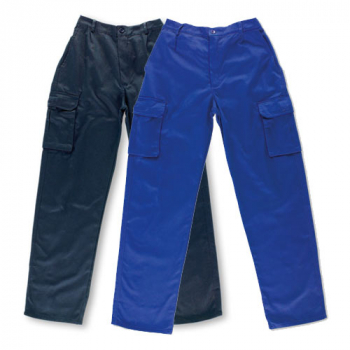 Pantalón de trabajo 100% algodón (2 colores)