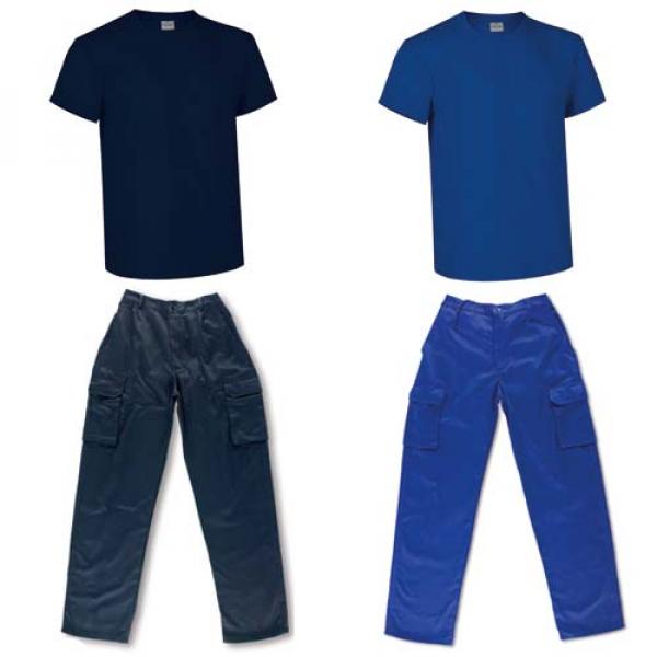 Conjunto económico pantalón y camiseta (2 colores)