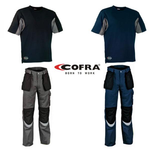 Pantalón y camiseta Cofra alta gama (2 colores)