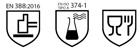 Normativas del guante 688ND de Marca Protección laboral.